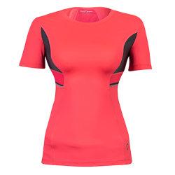 Hallo-Nämlich Dekor-Sports Breathable Ineinander greifen-Gewebe-Yoga Frauen-T-Shirts