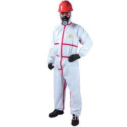 PVC étanche Diposable industriels tenue de protection chimique