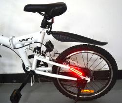 Van de Waterdichte het Berijden van het Achterlicht van de fiets Lichten van de Fiets van het Achterlicht LEIDENE de Achter Lichte Navulbare Fiets van de Berg USB