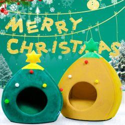 عيد ميلاد المسيح شكل مريحة قطة [كج] سرير محبوبة كج