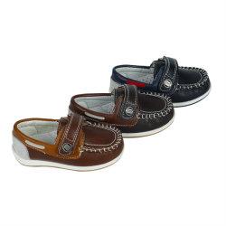 Классический липучки детской моккасин обувь