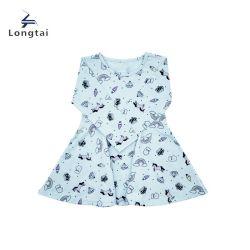 유아복 / 여아용 패션 의류 / 어린이 의류 / a. o 인쇄된 드레스 / 아이들이 스커트 / 옷을 입는다
