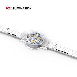 건물 조명용 RGB LED 포인트 Ws2811 SMD 5050 클러스터