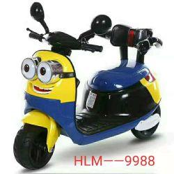 車の再充電可能な革赤ん坊のオートバイCem-10の電気子供のおもちゃのバイク電池の乗車