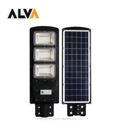 IP65 LED 로드 램프 도로 하나로 실외 방수 가능 모션 센서가 있는 Garden Yard Smart SMD 90W 통합형 LED 태양광등 LED가 있는 거리 조명