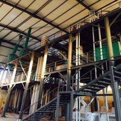 مجموعة كاملة من ماكينات طحن الذرة / مطحنة الذرة من التصنيع