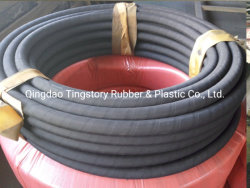 Cancelli manuli tubo flessibile in gomma idraulica standard SAE100 R1AT DIN853 1sn