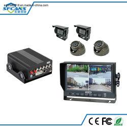 タクシー車バストラック艦隊管理4G GPS CCTVのカメラのレコーダーの機密保護の可動装置追跡DVR