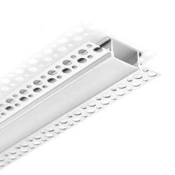 壁の屈曲LED線形軽いアルミニウムLEDハウジングチャンネルで引込む20.7mmの幅Trimless