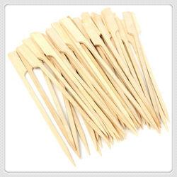 Spiedo di bambù rotondo/bastoni del barbecue su ordinazione a gettare di alta qualità