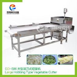 Industrieller großer Typ Gemüsescherblock-Kopfsalat-Spinat-Ausschnitt-Maschine
