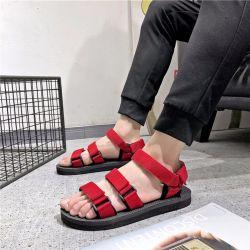 Commerce de gros ruban Summer-Men-S des pantoufles en coréen