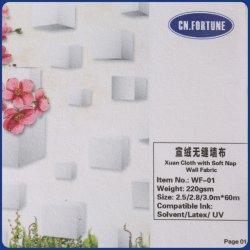 Impresión de gran formato directo de fábrica de papel tapiz tejido de la pared