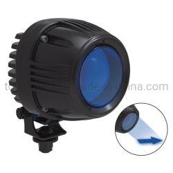 Flecha LED Spot Carretilla azul/roja luz de advertencia de seguridad de trabajo 10-110V