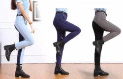 Commerce de gros de l'équitation pantalon contraste des couleurs Jodhpurs culotte équestre de siège