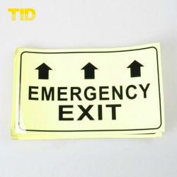 PVC Photo Luminescent Film voor Exit Signs