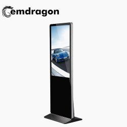 Plancher LCD permanent 55 Inch cadre numérique de la publicité à ultra haute verticale l'écran tactile de la machine de la Chine