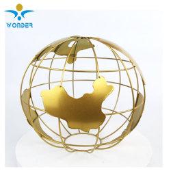 Polyester époxy brillant lumineux Metallic Gold Revêtement poudre de métal