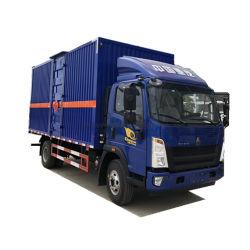 Driver destro HOWO Box Van Truck 3.5 Tons Van Cargo Truck di Clw 2tons-6tons