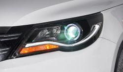 Pour VW Tiguan La Tête de Lampe 2010-2012 feux à LED LED témoin de voiture