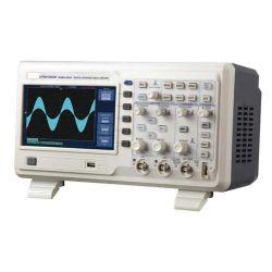 Laboratoire de 200MHz oscilloscope double canal numérique automatique