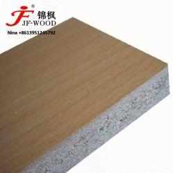 Folheado de madeira natural face a face de melamina Blockboard ou compensado de MDF de partículas