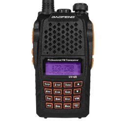 128 풀그릴 PC에 UV 6r CH VHF 134-174MHz UHF 400-520MHz FM 송수신기 Pofung