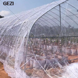 Gezi HDPE beständiges transparentes UVineinandergreifen-Antiinsekt-Netz für Gemüse-und Frucht-Schutz