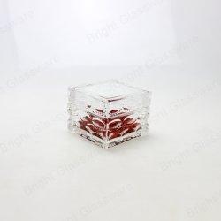 Vaso di vetro dello spuntino dell'alimento di disegno del quadrato operato dell'elettrodomestico con il coperchio