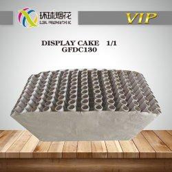 130 Gelukkige Shells van de Vertoning van het Vuurwerk van de Cake van Hunan van de Boom Tiros Goedkope