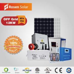 12квт off сеточной системы солнечной энергии систем