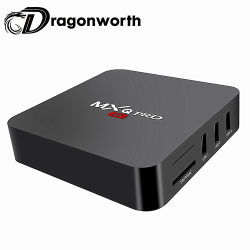 Caixa de TV Android inteligente RK3229 Quad-Core 2.4G Wireless WiFi 1 GB de RAM de 8 GB ROM H. 265 2K 4 K HD Media Player