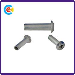 DIN/ANSI/BS/JIS Stainless-Steel Carbon-Steel/carter de coupe transversale ronde Connecteurs fixations de l'industrie mécanique