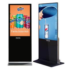 43 55polegadas LCD interior permanente Exibição de Publicidade Digital Signage Totem Touchscreen Leitor Android Preço direto de fábrica