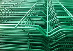China gelast, gegalvaniseerd vóór de Power Coated 3D Panel Fencing