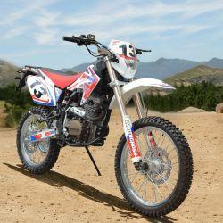 Motorrad-Schmutz laufend, fährt 250cc rad