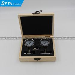 Manometro di alta qualità per pressione d'aria dentale della prova di Handpiece