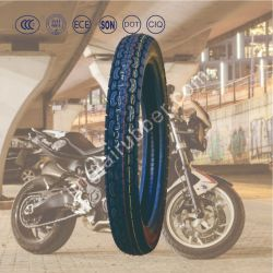 Nouveau OEM 18 pouces 6pr de la courroie de nylon de cross-country des pneus diagonaux Pattern basse pression des pneus de moto de caoutchouc naturel tube/ pneu (3.00-18) avec l'ISO de la CEE de la CCC
