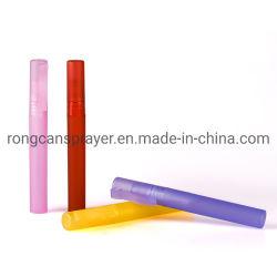 최고 품질 10ml PET 플라스틱 외관 향수 펜 스프레이 수증기 살균기