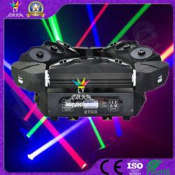 Новые 9 глав государств DMX DJ Disco этапе крестовина RGB лазера