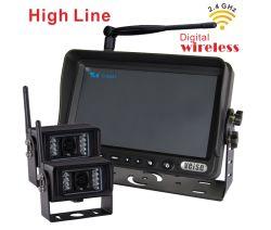 2.4GHz Digital drahtloses Kamera-System für LKWas, Bauernhof-Traktor