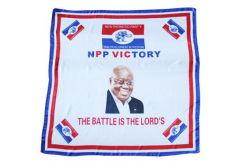 選挙のための安い卸し売り昇進のヘッドスカーフの習慣100%の正方形の綿の印刷