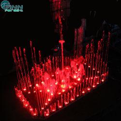Meilleur Prix de la musique de changement de couleur de lumière à LED de la danse de l'eau des fontaines
