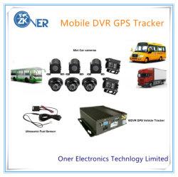 GPS/3G/4G/WiFi Mobiele DVR met GPS het Volgen en Video