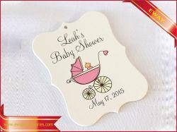 Baby-Kleidungs-Fall etikettiert Papierhängenmarken-Kind-Kleid