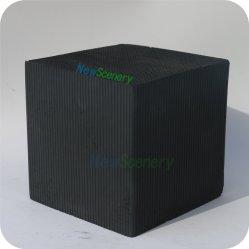 Imprimir y colorear la casa utilizar carbón activado panal.