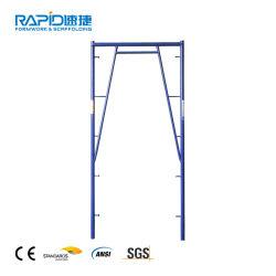 Aço ANSI um tipo h de caminhada através de um andaime andaime escada parte da estrutura do sistema
