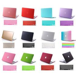 """Ordinateur portable Matt Housse Hard Shell caoutchouté+couvercle du clavier pour MacBook Air/PRO/Retina 11"""" 13"""" 15"""""""