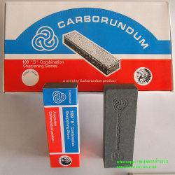 Macchina per affilare i coltelli nera/carborundum verde che affila pietra