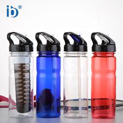 Kaixin Reusble clásica botella de viaje de agua potable directa clara ecológica